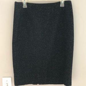 Elie Tahari Virgin Wool Pencil Skirt